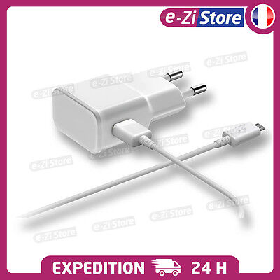 $ CDN7.60 • Buy CHARGEUR SAMSUNG S6 S7 Edge MICRO USB LOT KIT 2 EN 1 CABLE + SECTEUR 2A ANDROID