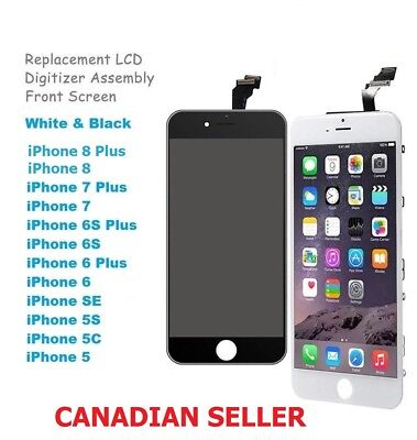 $ CDN15.99 • Buy Lot New LCD Touch Screen Digitizer For IPhone 5 5s SE 6 6P 6s 6SP 7 8 8P Plus