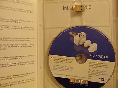 Sirona CEREC Inlab Software V4.0  Dongle Softguard Drive In Lab • 240$