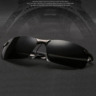 AU12.66 • Buy Tac HD Polarized Sunglasses Men Driving Sports Aviator Metal Frame Sun Glasses