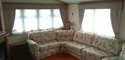 CARAVAN Furnishings BRITISH MADE 2 MEASURE Self Lined ALL SIZE-pm Us Exact Size • 39£