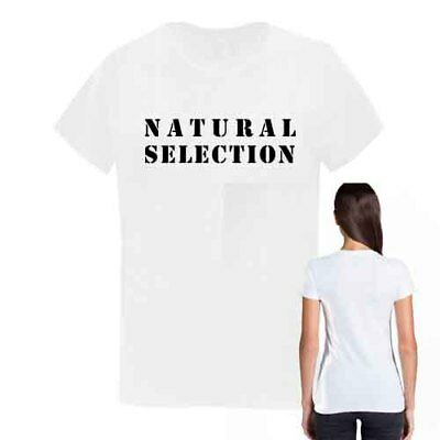 AU39.70 • Buy NATURAL SELECTION Tee White Cotton New Women's T-Shirt