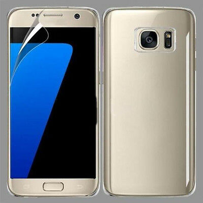 $ CDN3.38 • Buy For Samsung Galaxy S7 Screen Protector Front And Back Cover Curve Protective New