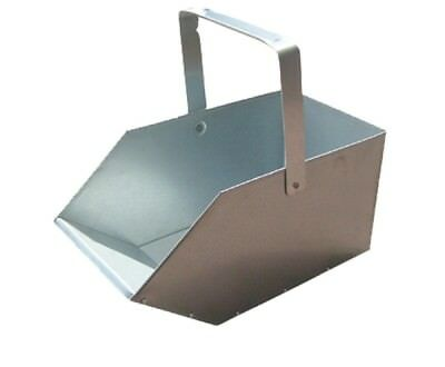 Coal Bucket Galvanised Small Ash Wood Hood Container Scuttle Storage Fireside • 11.53£