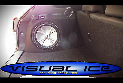£25 • Buy Side Stealth Sub Speaker Enclosure Box Build Any Vehicle Space Save 8 10 12 NEW
