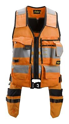 £89.98 • Buy Snickers 4230 AllroundWork  High-Vis Tool Vest CL1 BNWT Free Delivery