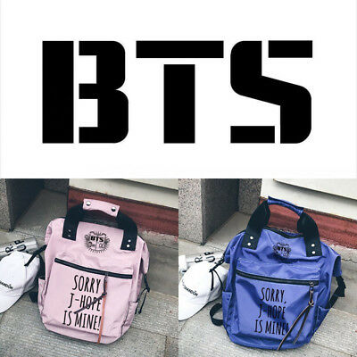 $28.08 • Buy KPOP BTS Bangtan Boys Wings Unisex Backpack Student Travel Shoulder Bag Laptop