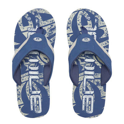 Animal Mens Flip Flops.jekyl Logo Soft Toe Post Blue Thongs Sandals 8s 2 P43 • 16.99£