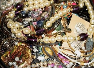 $ CDN54.33 • Buy Grandmas Estate ALL Wearable Re-Sellable Vintage To Modern Jewelry Pound Lots