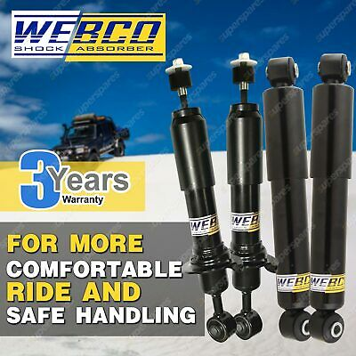 AU302.68 • Buy Front Rear Raised Webco Shock Absorbers For SUZUKI SIERRA SJ80 Hard Soft Top