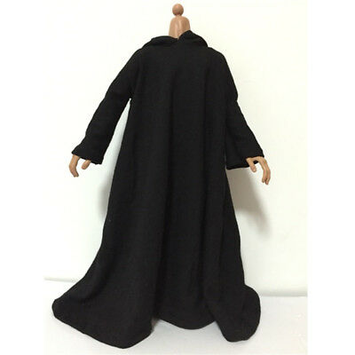 £9.18 • Buy 1/6 Scale Black Cloak Clothing For 12'' Dolls Action Figure Male Body Toys