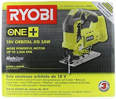Ryobi  P5231 18-Volt ONE+ Orbital Jig Saw, Upgraded P523 (Tool-Only,New In Box) • 65.82£
