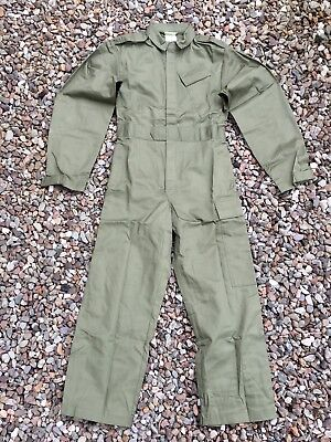 Original British army Olive green suit coverall mechanics jumpsuit coveralls NEW