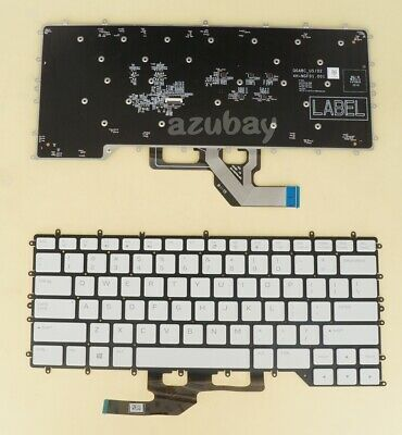 $ CDN58.45 • Buy US English Keyboard For Laptop DELL Alienware M15 R2, RGB Color Backlight, White