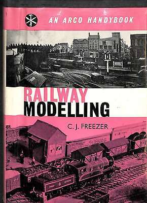 Railway Modelling (Handybooks), Freezer, C. J, Good Condition Book, ISBN • 9.32£