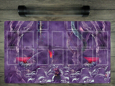 AU38 • Buy  YuGiOh Zombie World Trading Card Game Playmat Duel Mat Free High Quality Tube