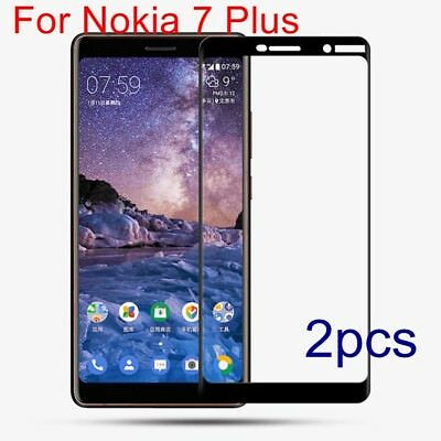 AU3.38 • Buy For Nokia 7 Plus Genuine Tempered Glass Screen Protector Film Guard Protection