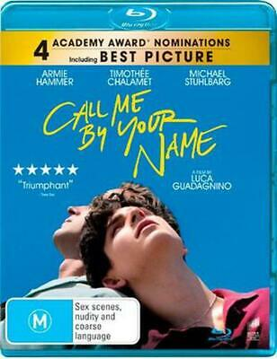 AU18.22 • Buy Call Me By Your Name - Blu Ray Region B Free Shipping!