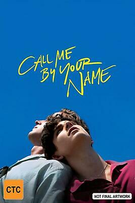 AU13.89 • Buy Call Me By Your Name - DVD Region 2,4 Free Shipping!