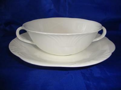 Single (1) Villeroy & Boch Arco Weiss Creme Soup Bowl & Stand (1st) • 24.99£
