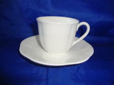 Single (1) Villeroy & Boch Arco Weiss Espresso Coffee Cup & Saucer • 19.99£