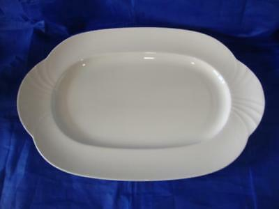 Set Of Six Villeroy & Boch Arco Weiss Large Oblong Serving Plates 13 1/2  (34cm) • 140£