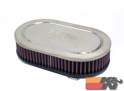 AU159.37 • Buy K&N Uni Clamp-On Air Filter For 2-3/4DUAL, 9 X 5-1/2OD,2H RC-2830
