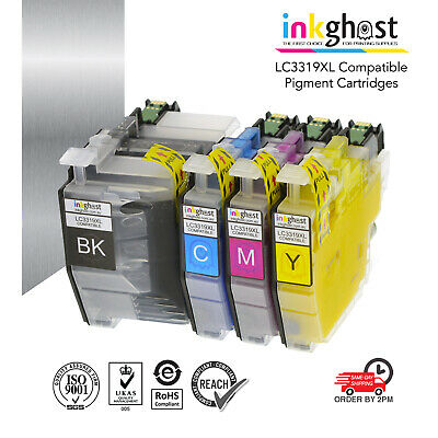 AU57.54 • Buy LC3319XL PIGMENT Compatible Ink Cartridges For Brother MFC-J5730DW Printer