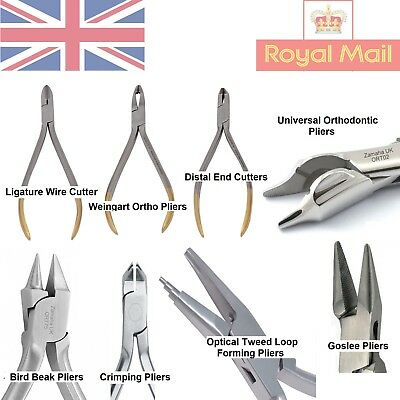 £8.65 • Buy Orthodontic Bracket Removing Plier Utility Forming Pliers Dental Instruments Ce