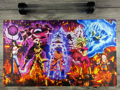 AU32.37 • Buy Dragon Ball Super Custom Duel Playmat YuGiOh/MTG/VG TCG CCG Mat Free Best Tube