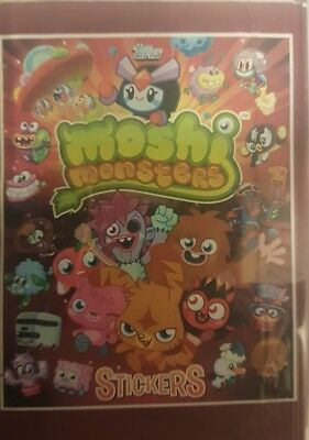£5.99 • Buy Moshi Monsters (red) X5o Loose Stickers