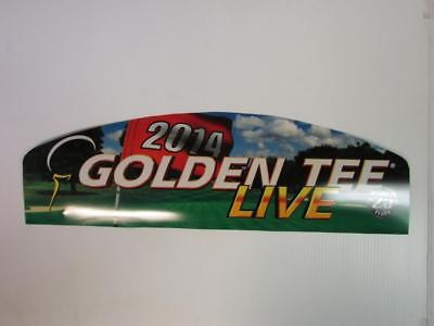 $59.95 • Buy Golden Tee 2014 Live Topper Arcade Decal. Free Shipping!!