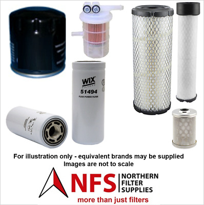 £79.99 • Buy NFS Filter Kit Fits Volvo EC25, EC30 With Mitsubishi S3L2 Engine