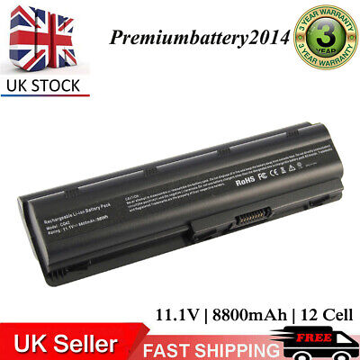 £17.99 • Buy 12cells Battery For HP Compaq 593553-001 Pavilion G6 DV7 UK CQ42 430 Notebook PC