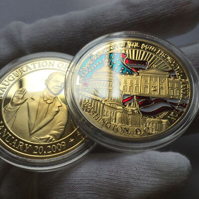 $7.99 • Buy US 56th Presidential Inauguration Barack Obama Challenge Coin January 20,2009