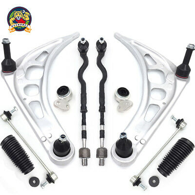 $148.75 • Buy Control Arm Ball Joint Bushing Tie Rod Boot Suspension Kit For BMW E46 3 Series