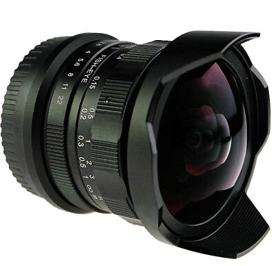 AU203.55 • Buy 8mm F2.8 Ultra Wide Angle Fisheye Lens For Sony NEX E-mount A7 A6300 A6000 VG10
