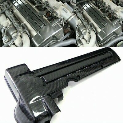 $ CDN394.13 • Buy Carbon Fiber Coil Spark Plug Engine Cover Trim For Toyota MK4 Supra 2JZ VVTI