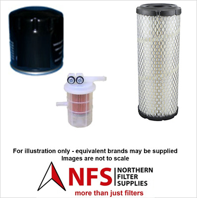 £25.50 • Buy NFS Filter Kit Fits Volvo EC25, EC30 With Mitsubishi S3L2 Engine
