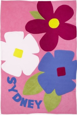 Personalized Blossoms Kids Blanket • 50.76£