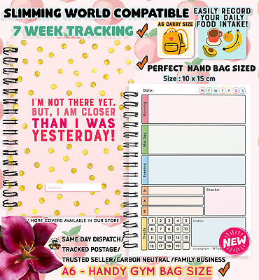£3.96 • Buy Food Diary Diet Journal Slimming World Compatible Weight Loss Tracker A6 PLANNER