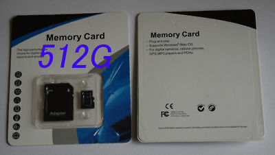 $12.85 • Buy 512 GB Micro SD Memory Card SDXC SDHC TF FLASH Class 10 For Android,Camera,phone