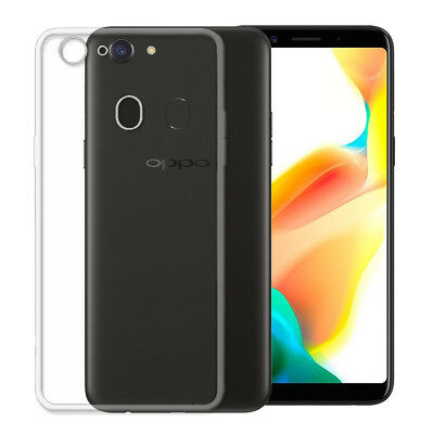 AU3.93 • Buy Slim Shockproof Soft Gel Clear Case Cover Screen Protector For Oppo A73