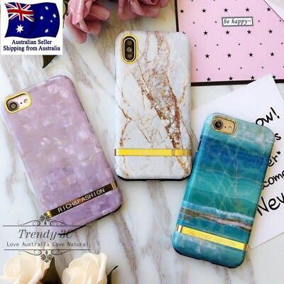 AU10.99 • Buy IPhone 6 6s 7 8 X Plus Marble Pattern Shockproof Heavy Duty Fashion Case Cover