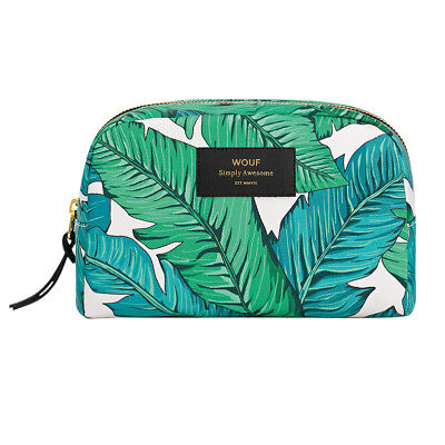 AU49.95 • Buy NEW Wouf Big Beauty Bag In Tropical Print Women's By Until