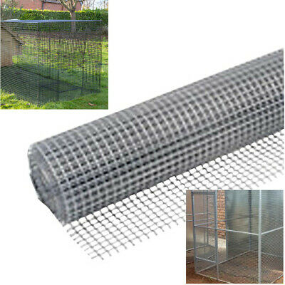 25mm Square Wire Mesh 5m Roll, Galvanised Netting Garden Screen, Fence Or Aviary • 14.16£