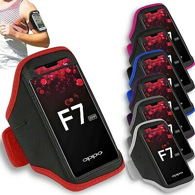 AU9.99 • Buy Premium Sports Armband For Oppo A57 A77 A73 Running Jogging Exercise Case Holder