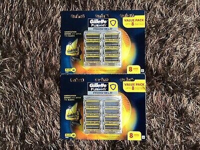 AU70 • Buy Gillette Fusion Proshield Razor 20 Blades (2 X 8 Pack+1x4pk)made In Germany+gift