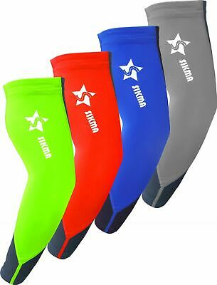 Cycling Arm Warmers UV Sun Rays Protection Lycra Arm Sleeves Running Gym Fitness • 5.89£