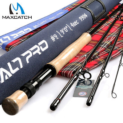 $ CDN109.12 • Buy Maxcatch Saltwater Fly Fishing Rod 7/8/9/10/12wt 9ft Graphite IM10 Fast Action